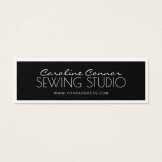 Sewing Studio Black & White Bordered Card