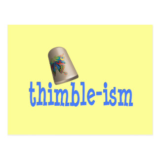 Sewing Thimble-ism Postcard