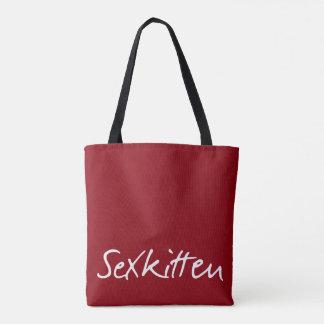 Sex Kitten All Over Print Bag
