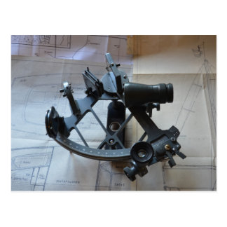 Sextant For Celestial Navigation Postcard