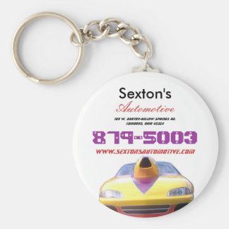 Sexton's Automotive Key Chain