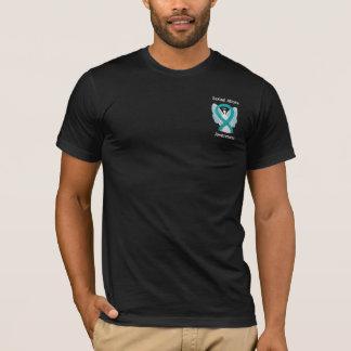 Sexual Abuse Awareness Ribbon Angel Custom Shirt