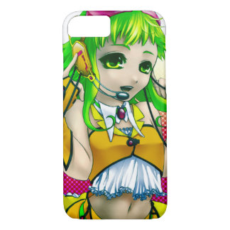 Sexy Anime Music Girl iPhone 7 Case