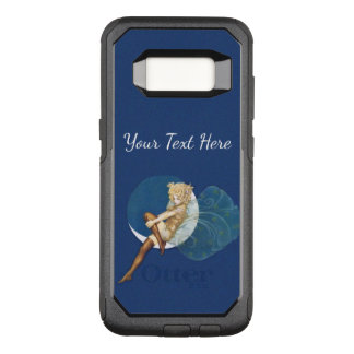Sexy Blond Fairy Gold Outfit Silk Stockings Moon OtterBox Commuter Samsung Galaxy S8 Case