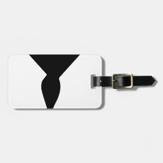 Sexy Champagne Glass Luggage Tag