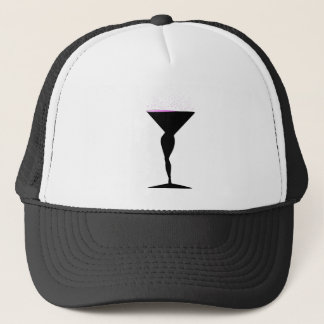 Sexy Champagne Glass Trucker Hat