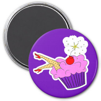 Sexy Cupcake Magnet
