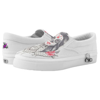 Sexy Day of the Dead Printed Shoes