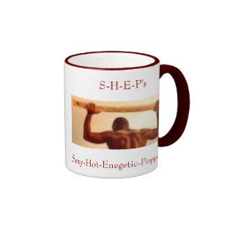 Sexy-Hot-Enegetic-Poppas ( S-H-E-P's) Ringer Mug