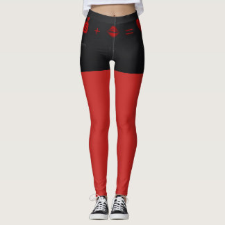 Sexy Leggings Red