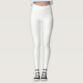 Sexy Leggings White / black
