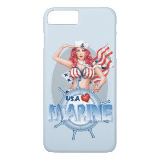 SEXY MARINE  CARTOON Apple iPhone 7 Plus  BT iPhone 7 Plus Case