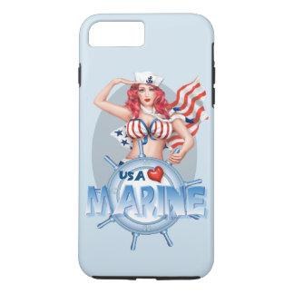 SEXY MARINE  CARTOON Apple iPhone 7 Plus  TOUGH iPhone 7 Plus Case