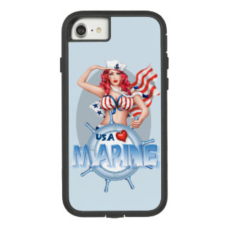 SEXY MARINE  CARTOON Apple iPhone 7  TOUGH XTREM Case-Mate Tough Extreme iPhone 8/7 Case