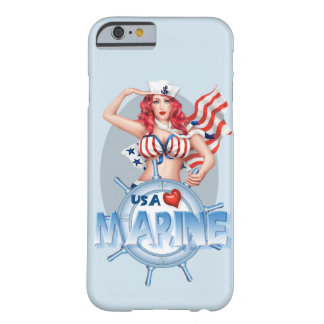 SEXY MARINE  CARTOON iPhone 6/6s BT Barely There iPhone 6 Case