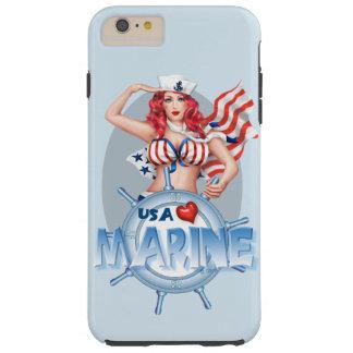 SEXY MARINE  CARTOON iPhone 6/6s Plus  TOUGH Tough iPhone 6 Plus Case