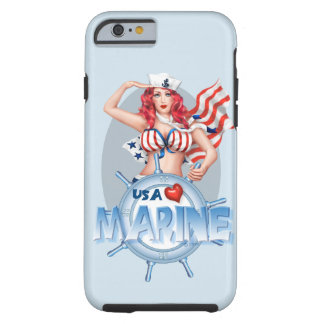 SEXY MARINE  CARTOON iPhone 6/6s TOUGH Tough iPhone 6 Case