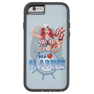SEXY MARINE  CARTOON iPhone 6/6s Tough Xtreme Tough Xtreme iPhone 6 Case