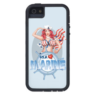 SEXY MARINE  CARTOON iPhone SE + iPhone 5/5S TX iPhone 5 Case