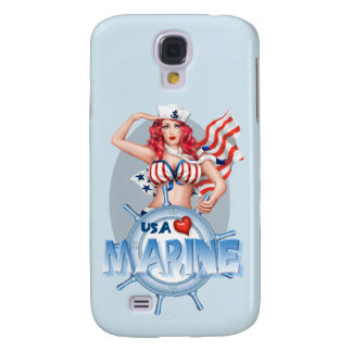 SEXY MARINE  CARTOON  Samsung Galaxy S4    BT Galaxy S4 Cover