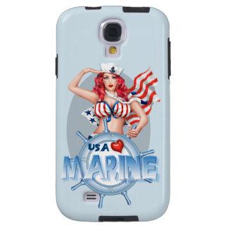 SEXY MARINE  CARTOON  Samsung Galaxy S4  TOUGH Galaxy S4 Case
