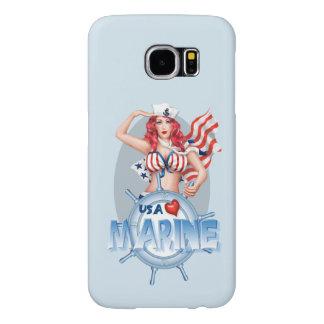 SEXY MARINE  CARTOON  Samsung Galaxy S6    BT