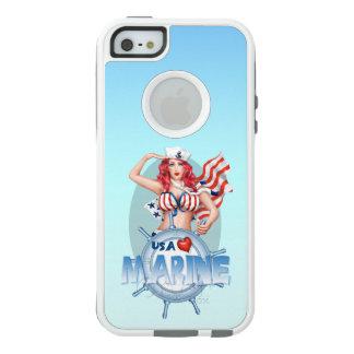 SEXY MARINE USA Apple iPhone SE/5/5s   CS W