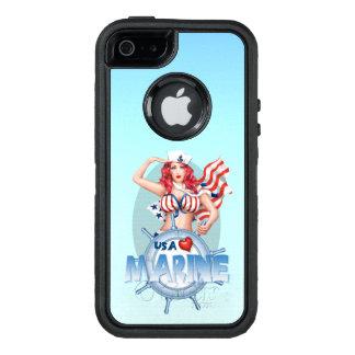 SEXY MARINE USA Apple iPhone SE/5/5s   DS