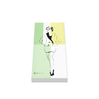 Sexy Modern Women Canvas Print
