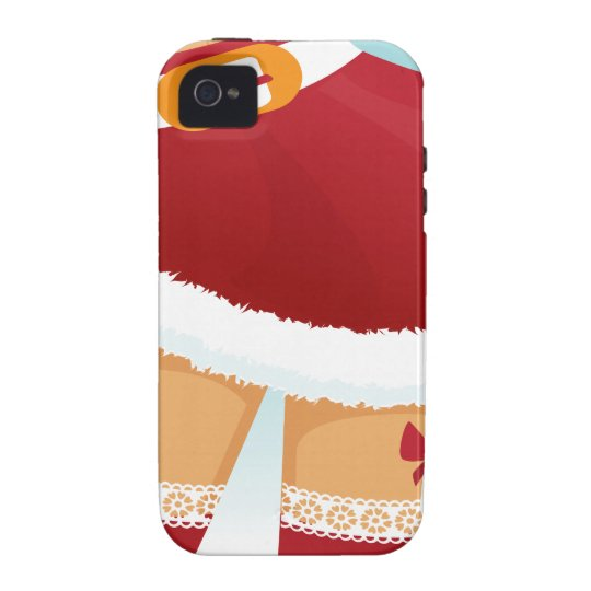 sexy mrs santa claus iPhone 4/4S covers