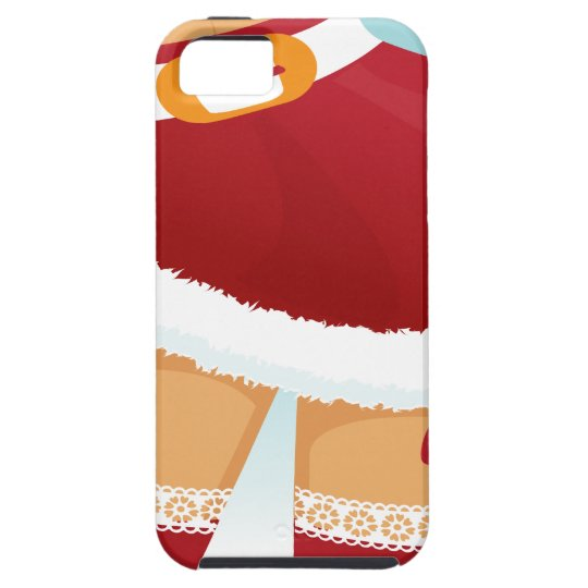 sexy mrs santa claus iPhone 5 case