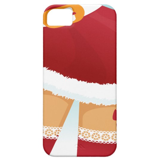 sexy mrs santa claus iPhone 5 cover