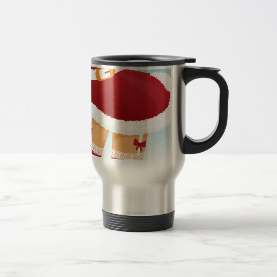 sexy mrs santa claus travel mug