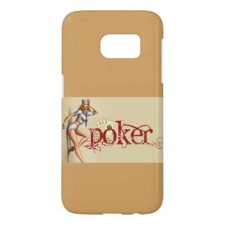 Sexy poker woman