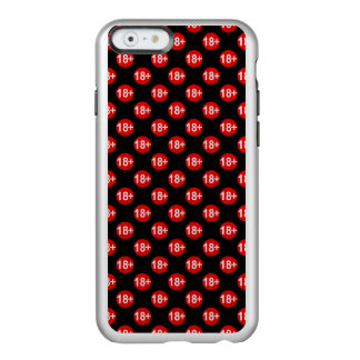 Sexy red and black polka dot incipio feather® shine iPhone 6 case