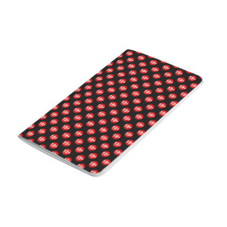Sexy red and black polka dot journal