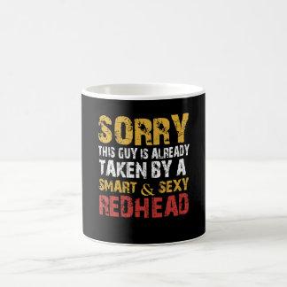 SEXY REDHEAD COFFEE MUG