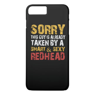 SEXY REDHEAD iPhone 7 PLUS CASE