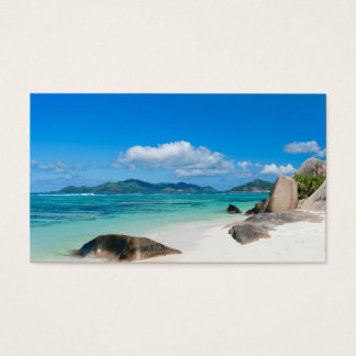 Seychelles Business Card