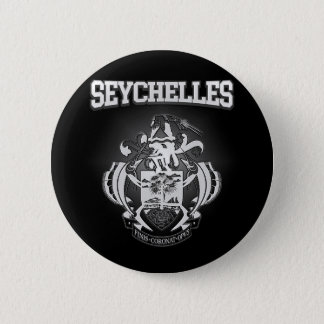 Seychelles Coat of Arms 6 Cm Round Badge