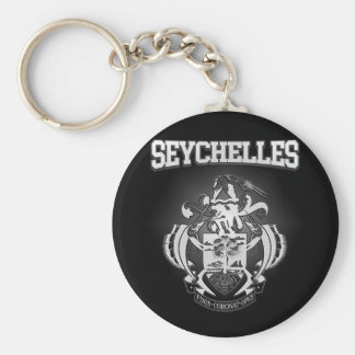 Seychelles Coat of Arms Key Ring