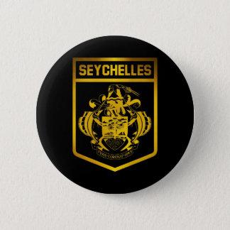 Seychelles Emblem 6 Cm Round Badge