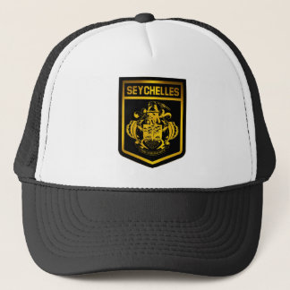 Seychelles Emblem Trucker Hat