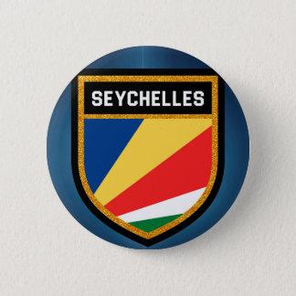 Seychelles Flag 6 Cm Round Badge