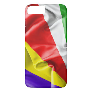 Seychelles Flag iPhone 7 Plus Case