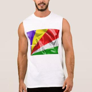 Seychelles Flag Sleeveless Shirt