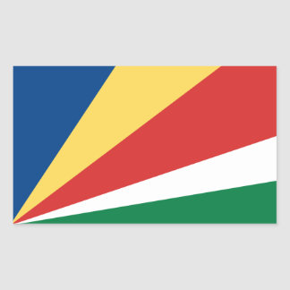 Seychelles* Flag Sticker