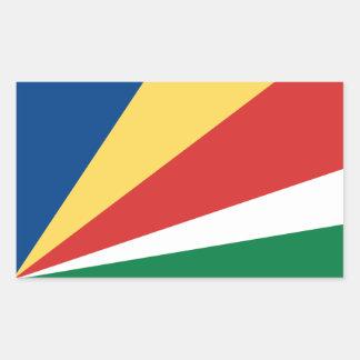 Seychelles* Flag Sticker