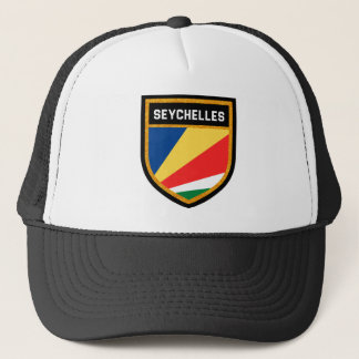 Seychelles Flag Trucker Hat