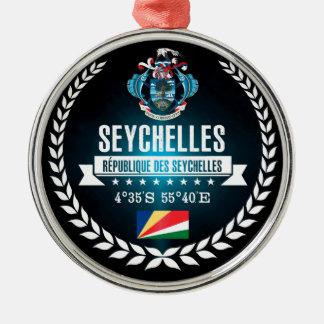 Seychelles Metal Ornament